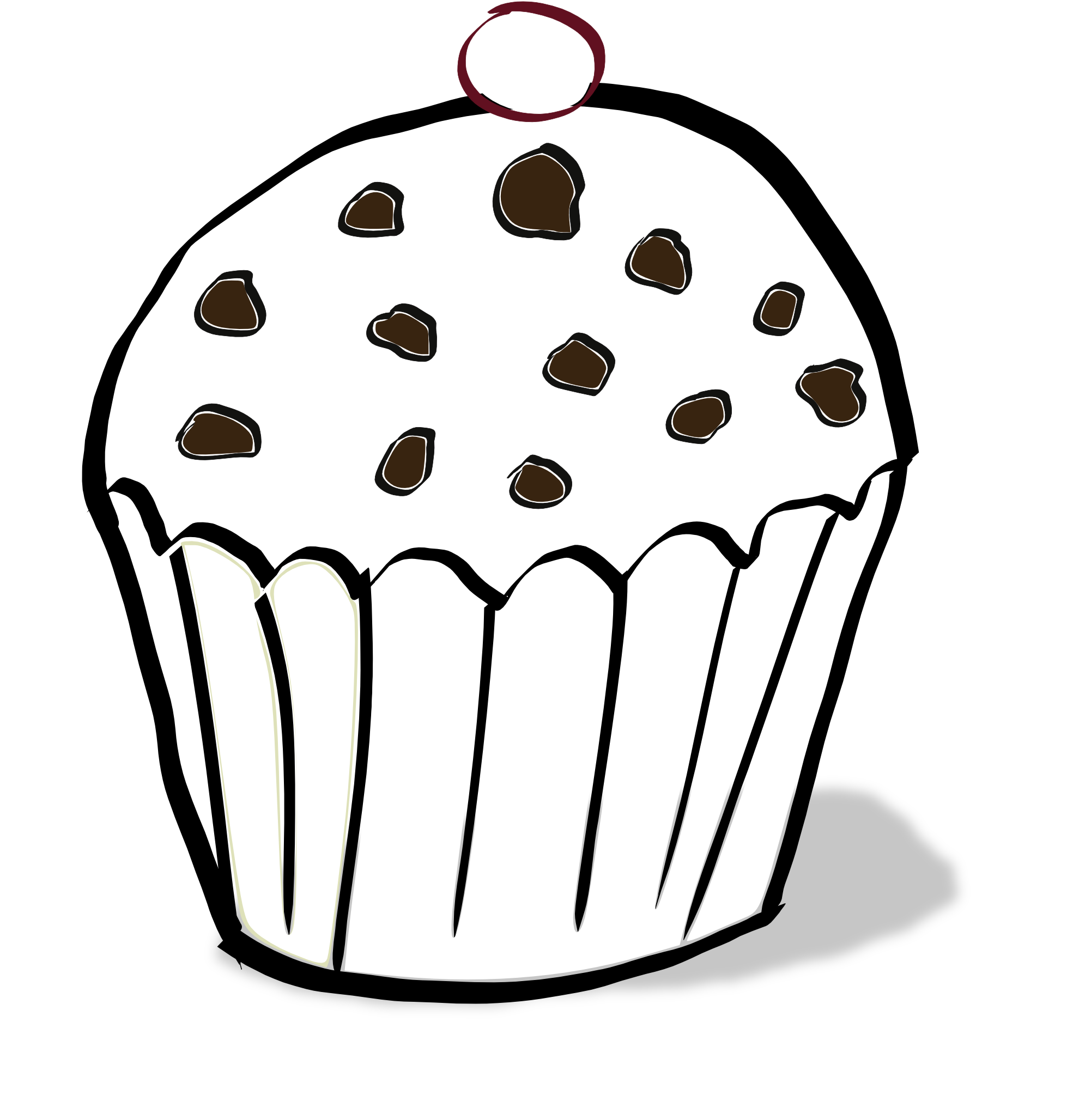 Collection of Muffin clipart Free download best Muffin
