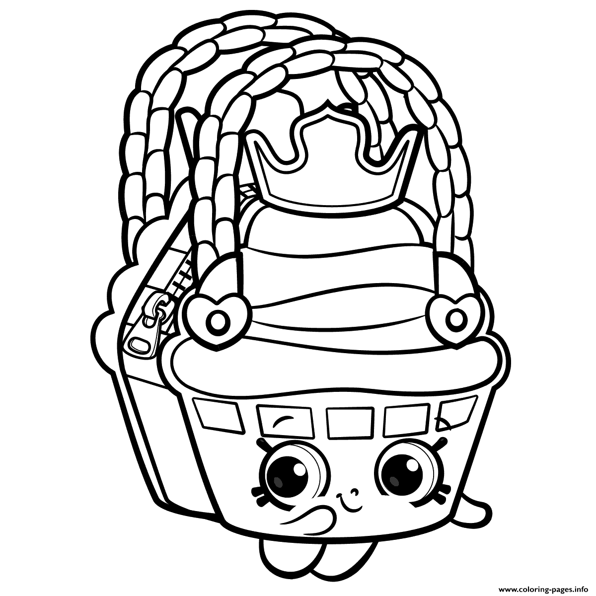 Chocolate Chip Cookies Coloring Pages