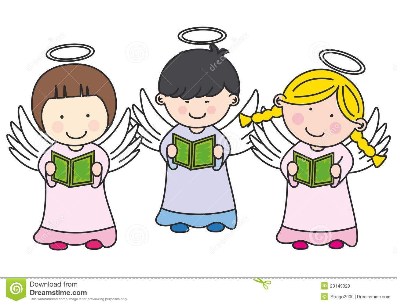 hight resolution of 1300x1000 singing christmas angels clipart