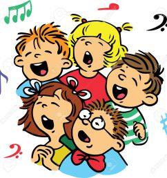 1292x1300 children signing choir clipart explore pictures [ 1292 x 1300 Pixel ]