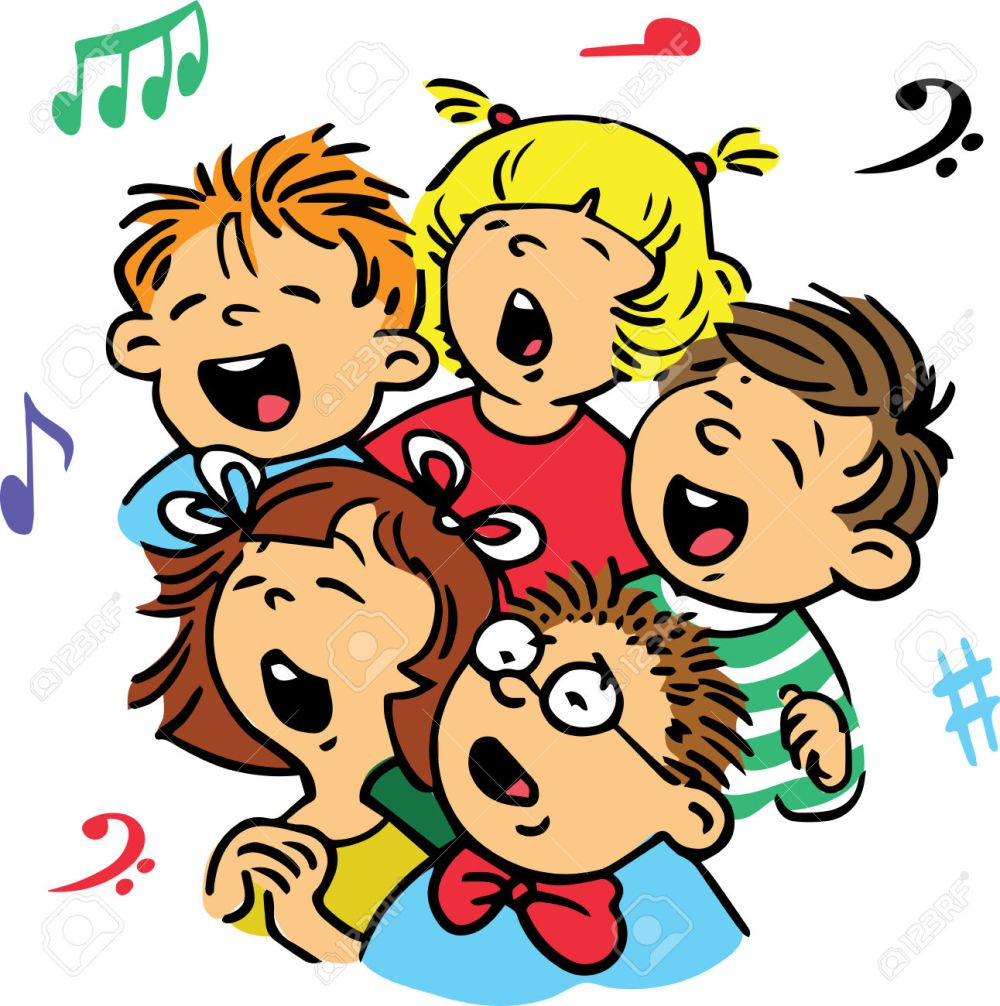 medium resolution of 1292x1300 children signing choir clipart explore pictures