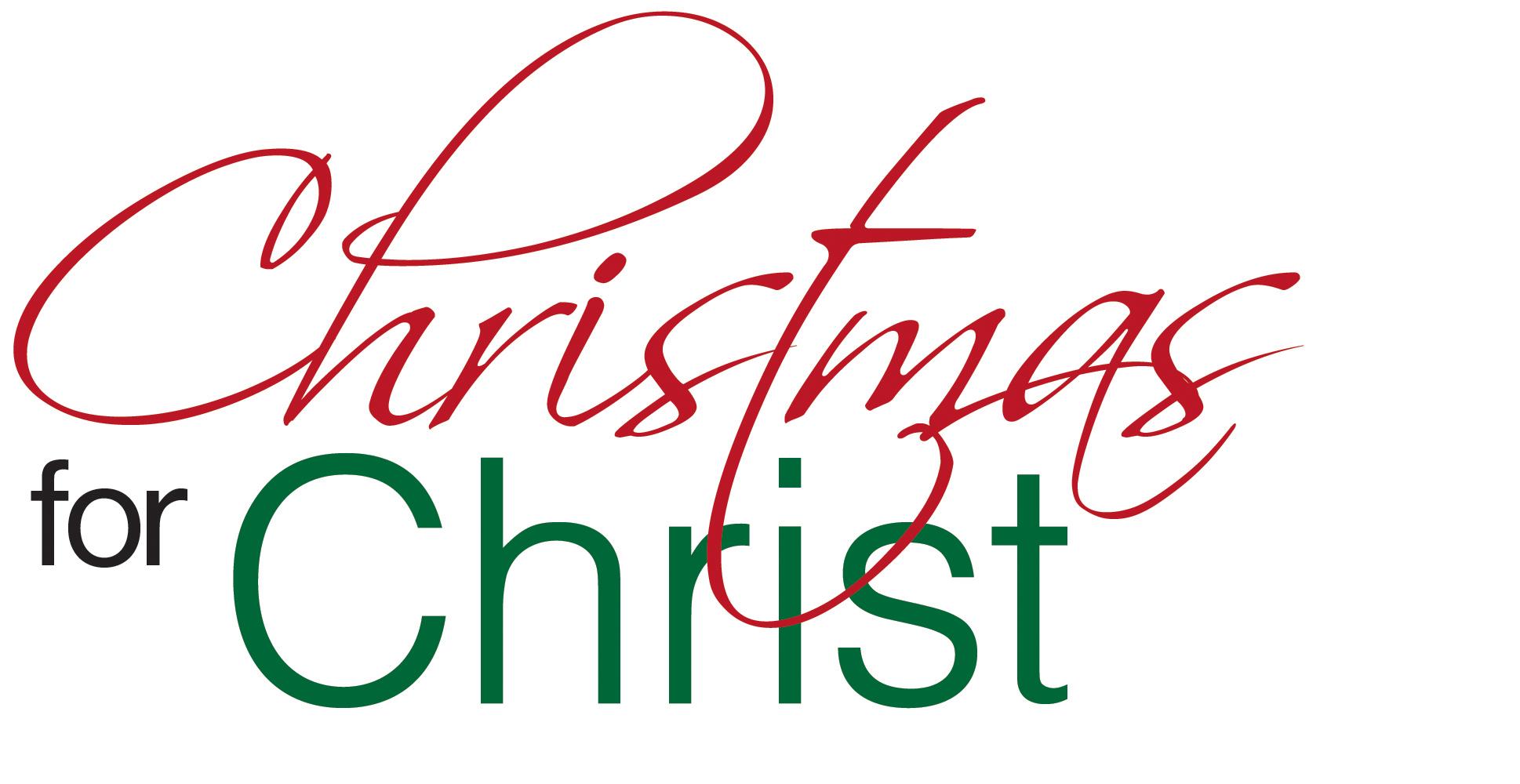 Christian Merry Christmas Clipart
