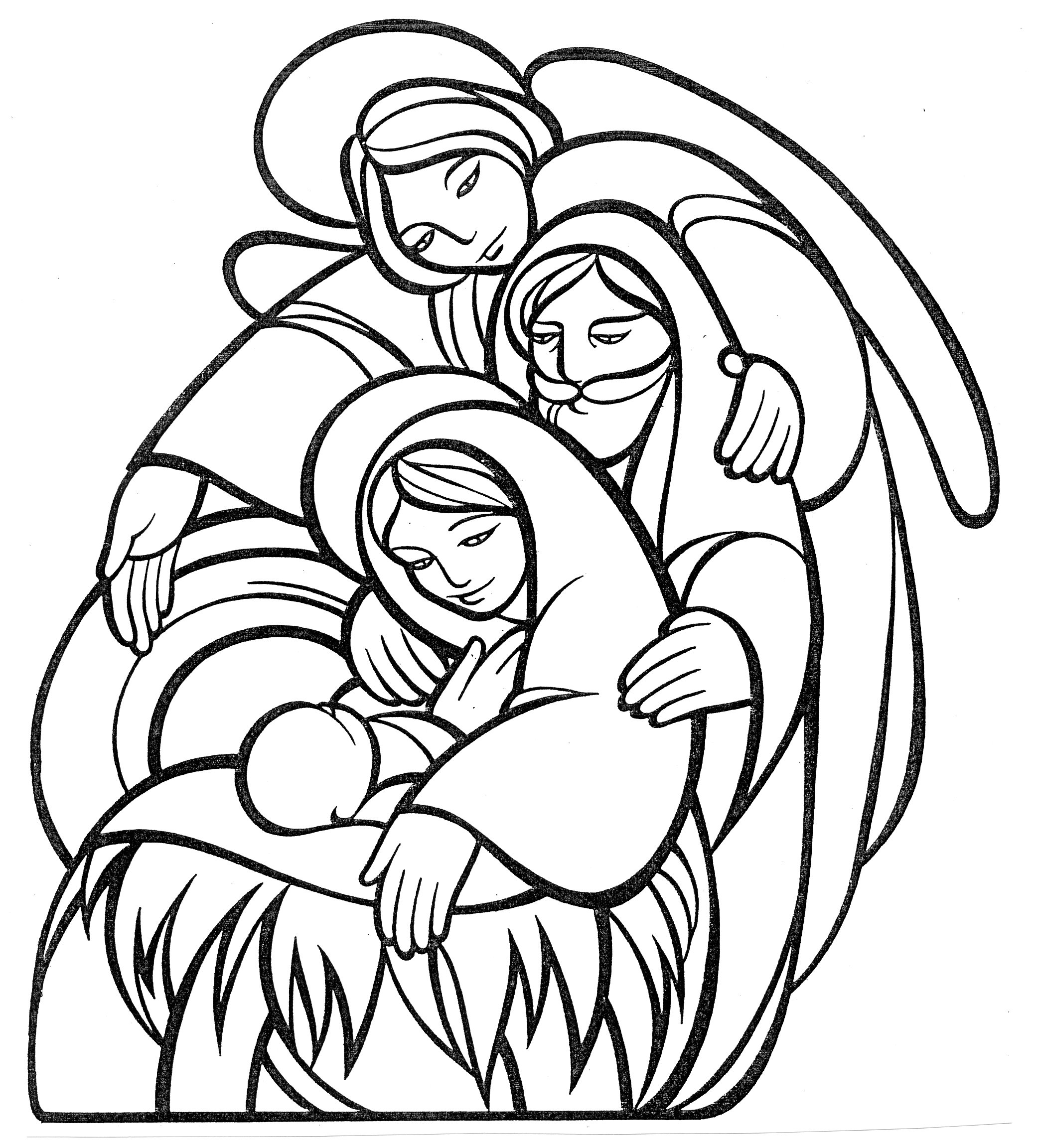 Christmas Church Clipart