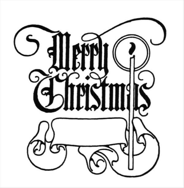 christmas clipart merry