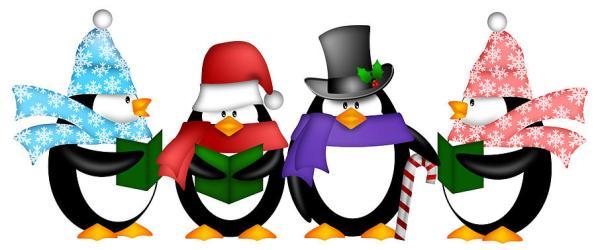 christmas clipart penguin clip clipartmag