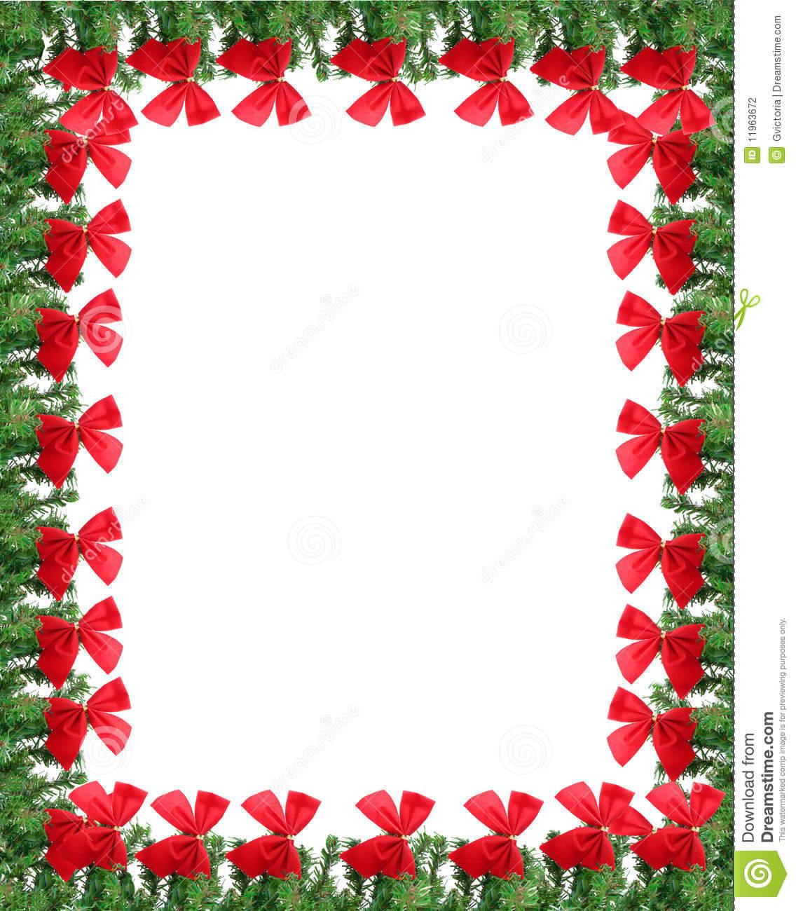 Christmas Page Borders Microsoft Word