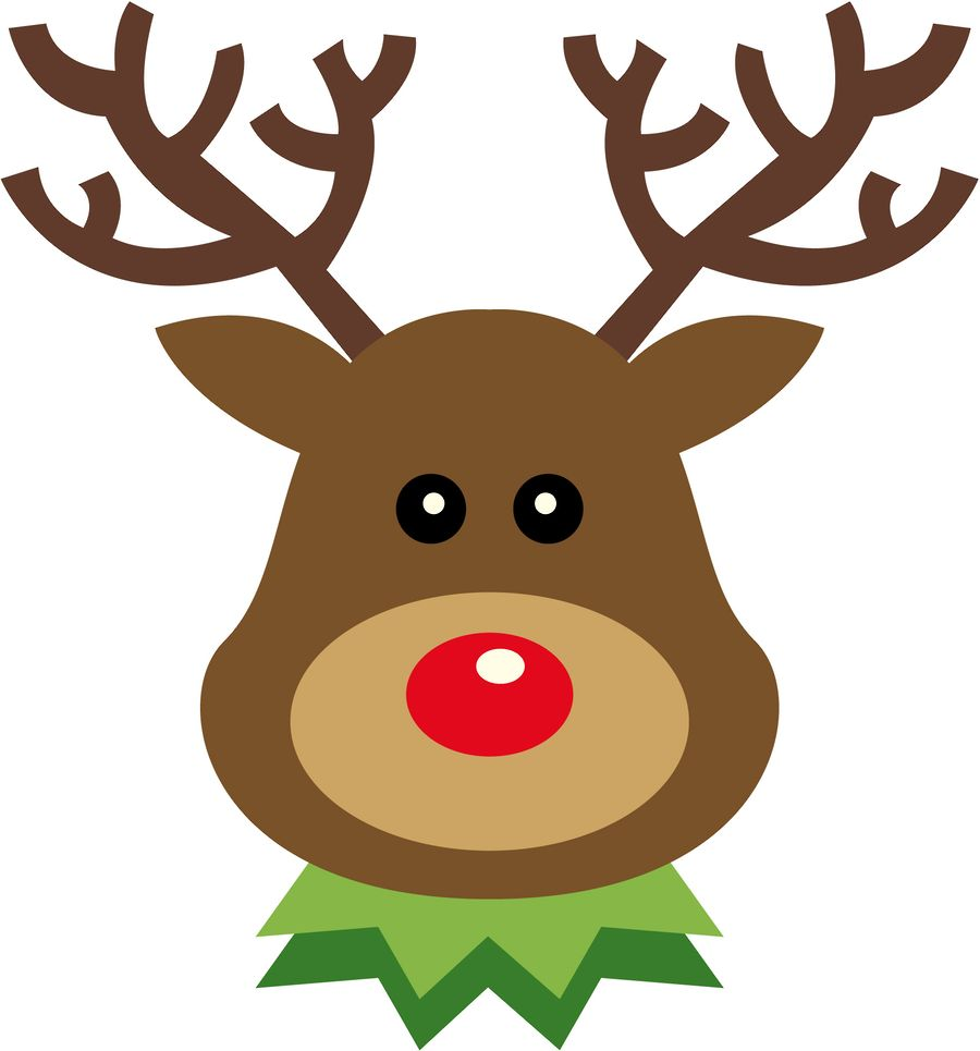 medium resolution of 900x965 christmas reindeer clip art clip art