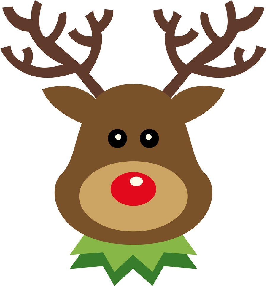 hight resolution of 900x965 christmas reindeer clip art clip art
