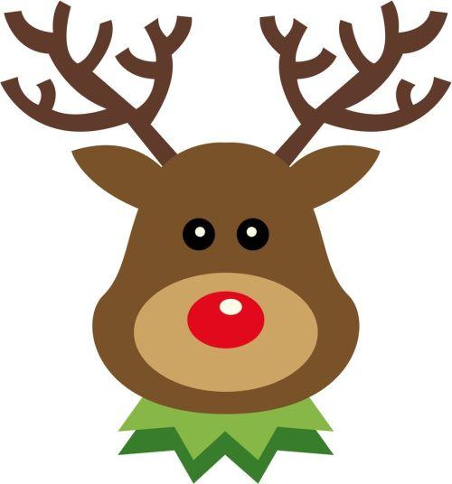 small resolution of 900x965 christmas reindeer clip art clip art