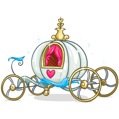small resolution of 1024x1024 carriage clipart cinderella story