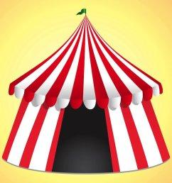1024x768 carnival tent clipart [ 1024 x 768 Pixel ]
