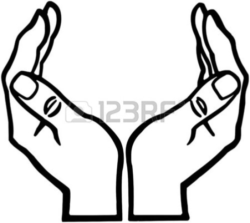 small resolution of 1350x1206 open hands clipart