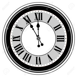 clock clipart midnight clip graphic clipartmag
