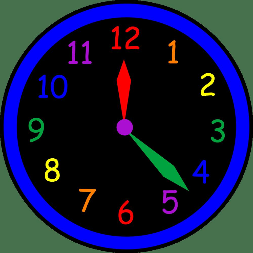 medium resolution of 4346x4346 wall clock