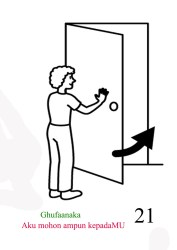 Cartoon Close The Door Clipart