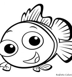 clown fish clipart black and white free download best clown fish jpg 1024x768 cute fish outline [ 1024 x 768 Pixel ]