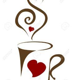 966x1300 coffee clipart coffee heart [ 966 x 1300 Pixel ]
