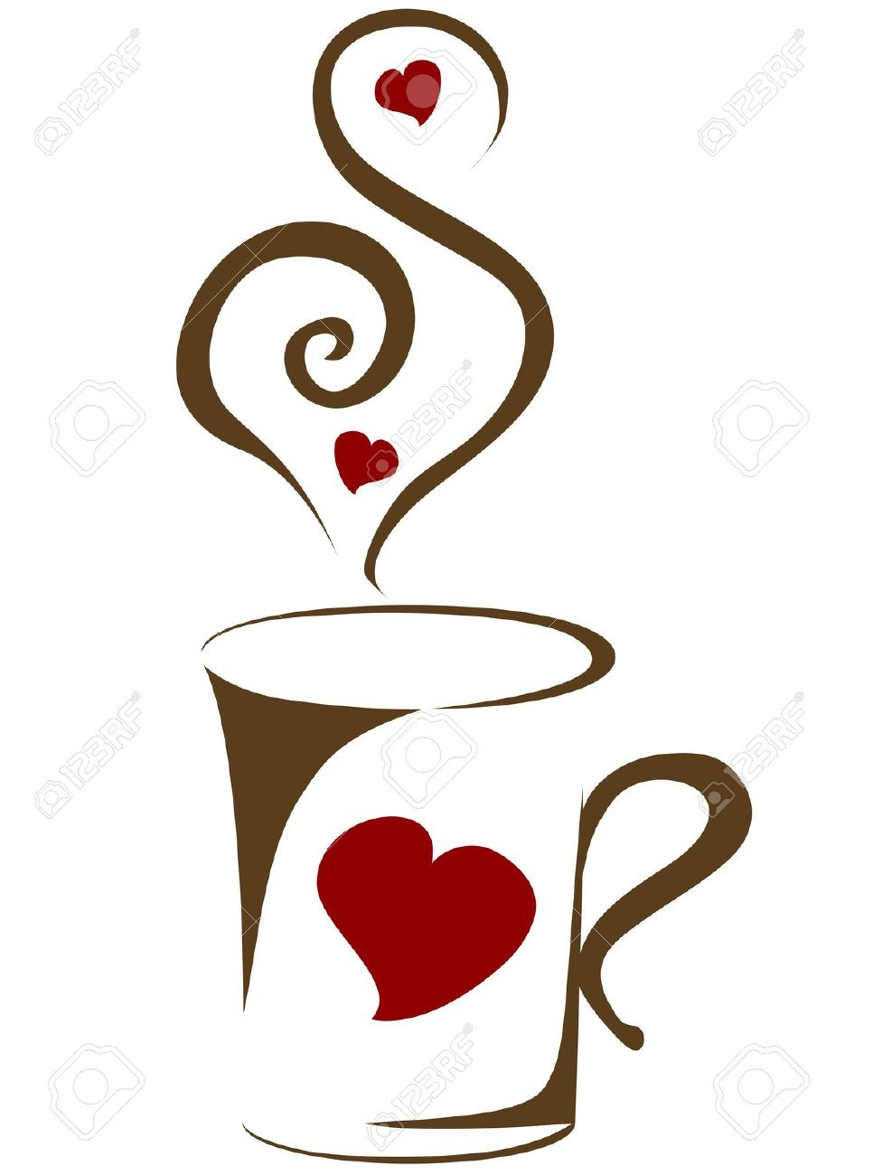 hight resolution of 966x1300 coffee clipart coffee heart