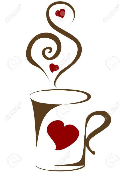 small resolution of 966x1300 coffee clipart coffee heart