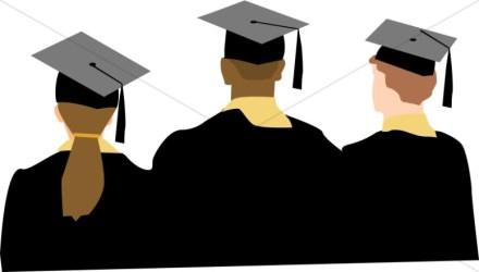 graduation clipart graduate college graduates clip ceremony grads congratulations balloons diploma cap pencil credit tips building christian sharefaith clipartmag graphics