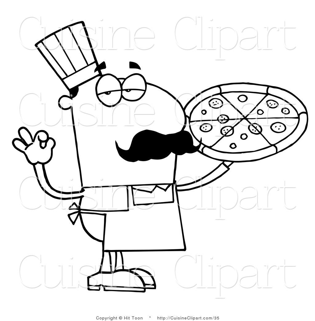 Color Pizza Cliparts