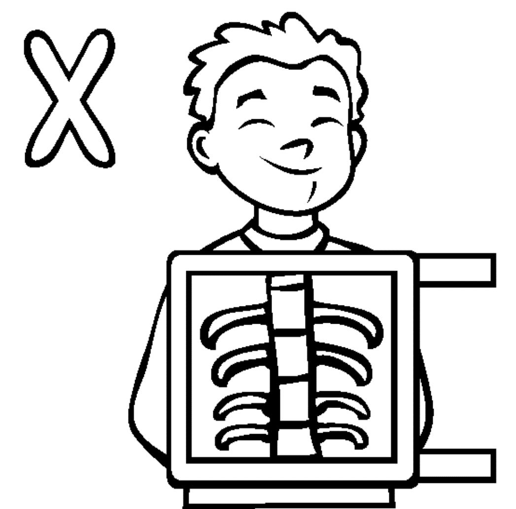 Coloring Pages X