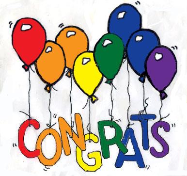 congrats clipart free