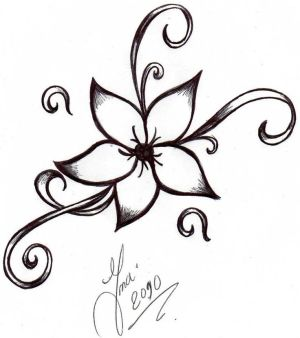 easy drawings cool drawing flowers clipartmag