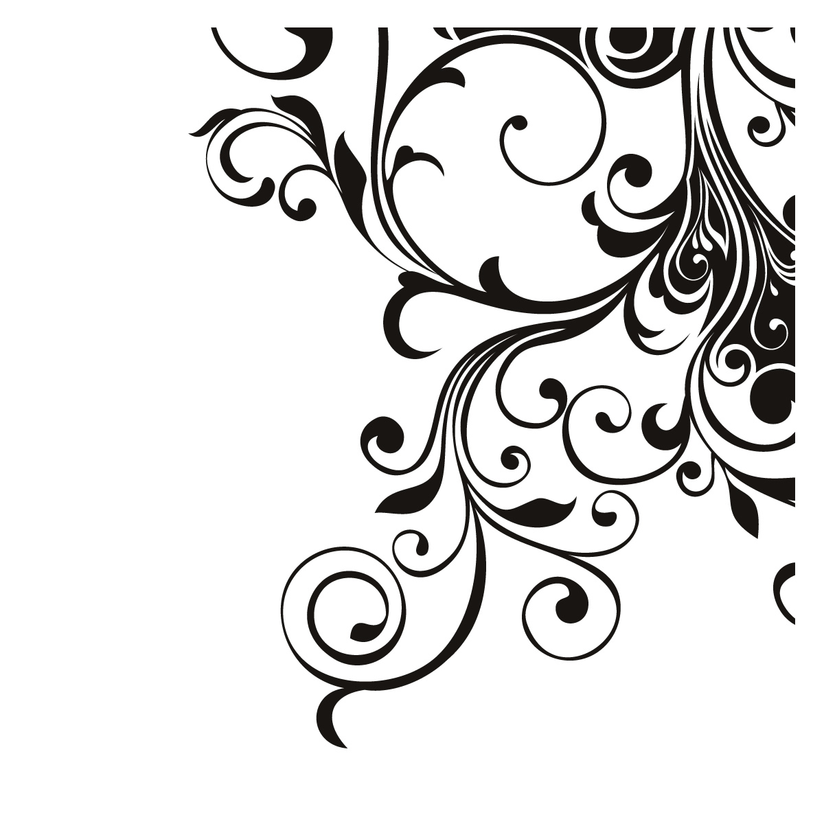 Corner Swirls Clipart