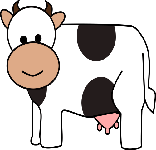 small resolution of 2400x2311 happy cow clip art