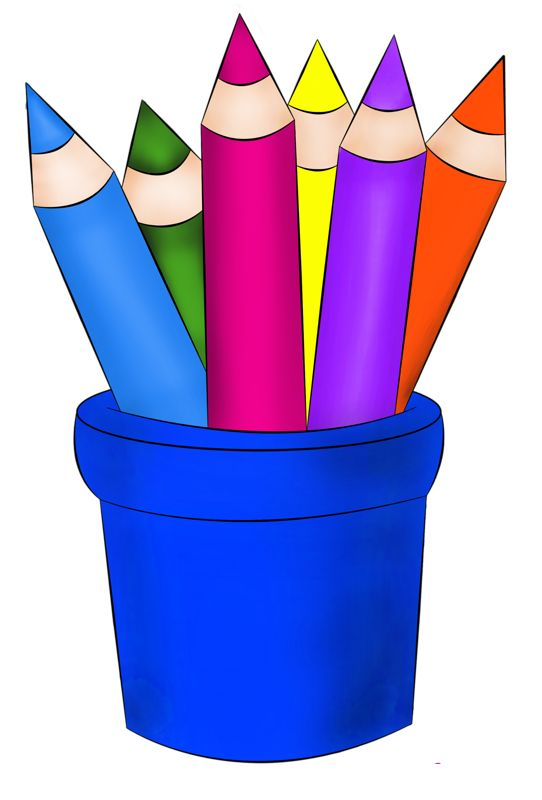 crayons clipart free