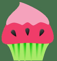 971x942 june birthday cupcake clipart [ 971 x 942 Pixel ]