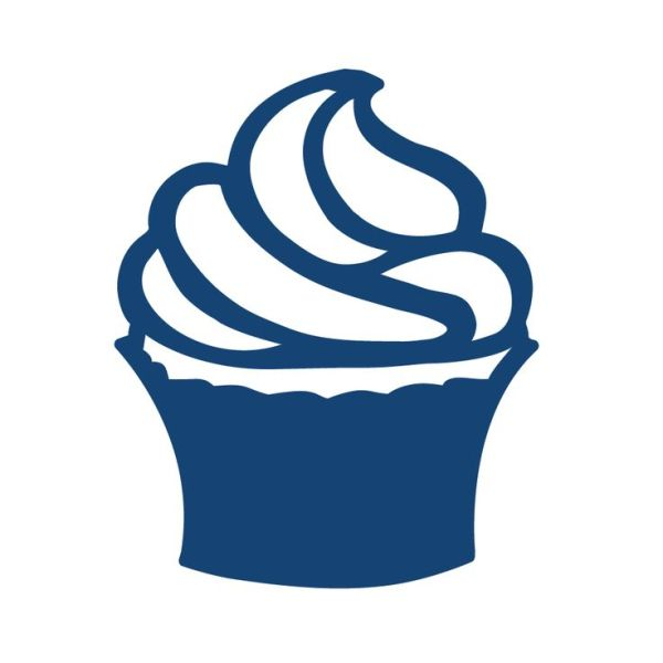 cupcake silhouette clipart free