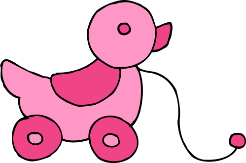 small resolution of 6279x4154 pink clipart baby toy