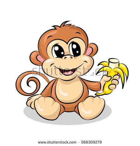 Monkeys And Bananas Cute Wallpaper Cute Cartoon Monkey Images Free Download Best Cute