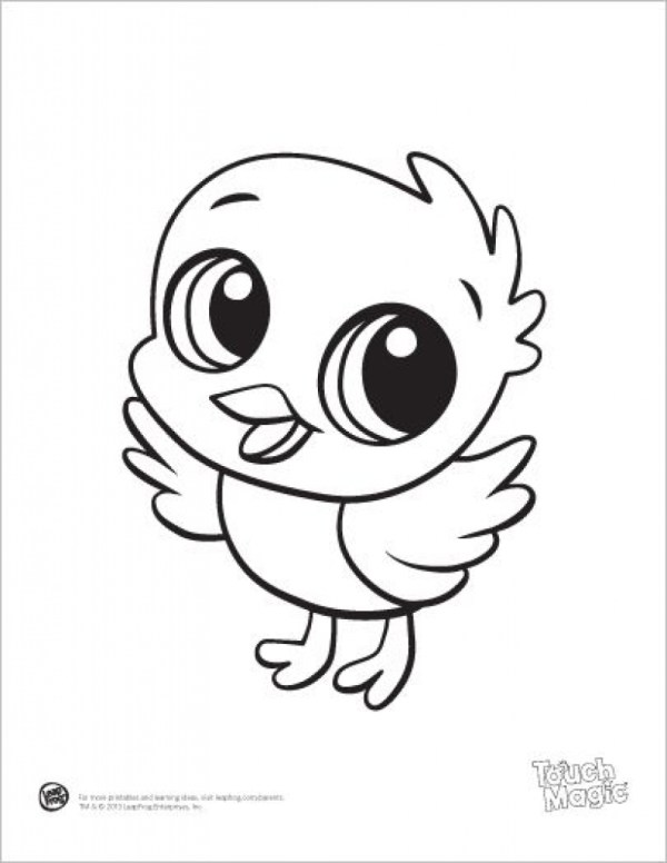 cute coloring pages of animals # 4
