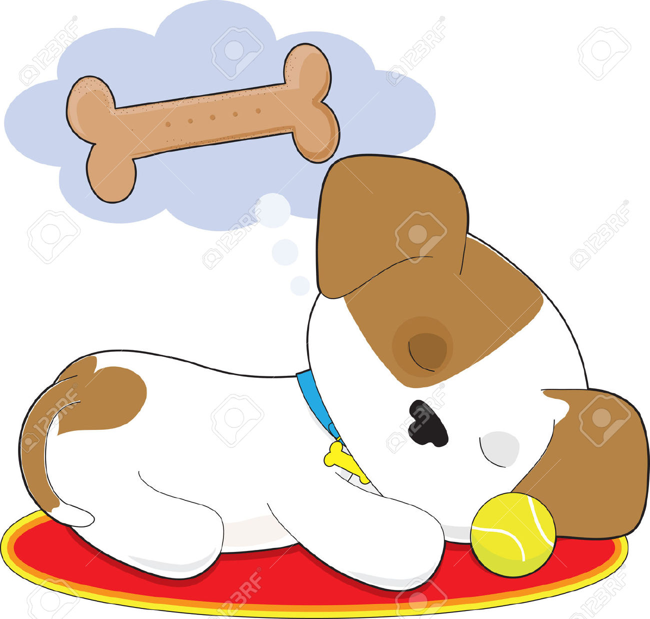 hight resolution of 1300x1237 resting dog clipart