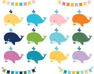 whale cute clipart clip clipartmag
