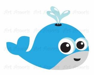 clipart whale cute clipartmag