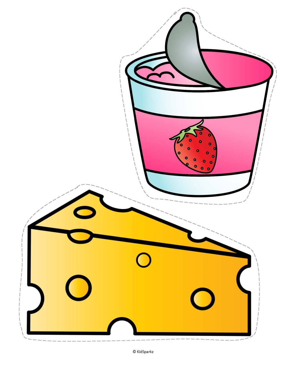 medium resolution of 1870x2420 clipart dairy food