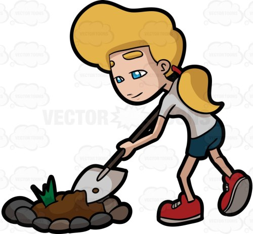 small resolution of 1024x949 a woman digging a bulk of soil from a garden patch