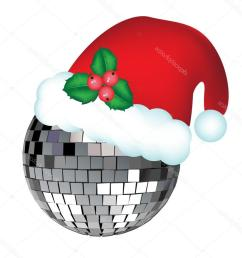 1020x1024 top stock illustration disco ball with christmas hat file free [ 1020 x 1024 Pixel ]