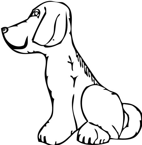 small resolution of 999x1015 dog clip art black and white clipart panda