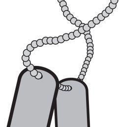 dog tag clip art [ 736 x 1273 Pixel ]