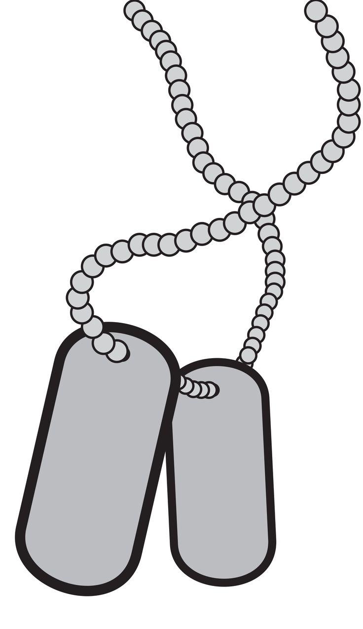 medium resolution of dog tag clip art