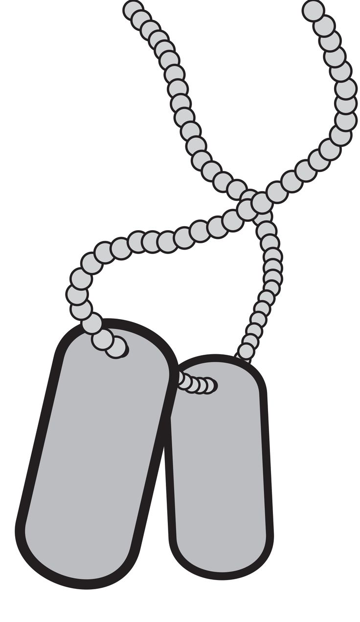 hight resolution of dog tag clip art