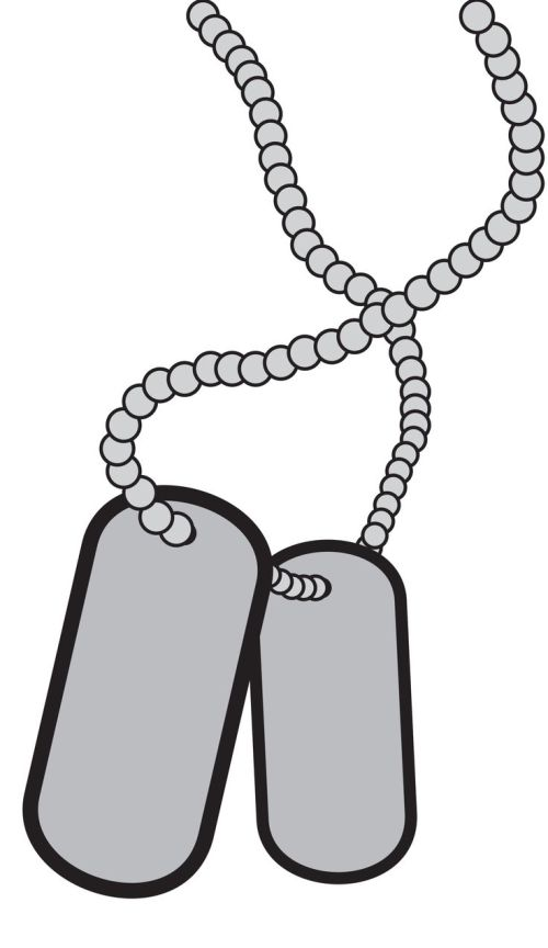 small resolution of dog tag clip art