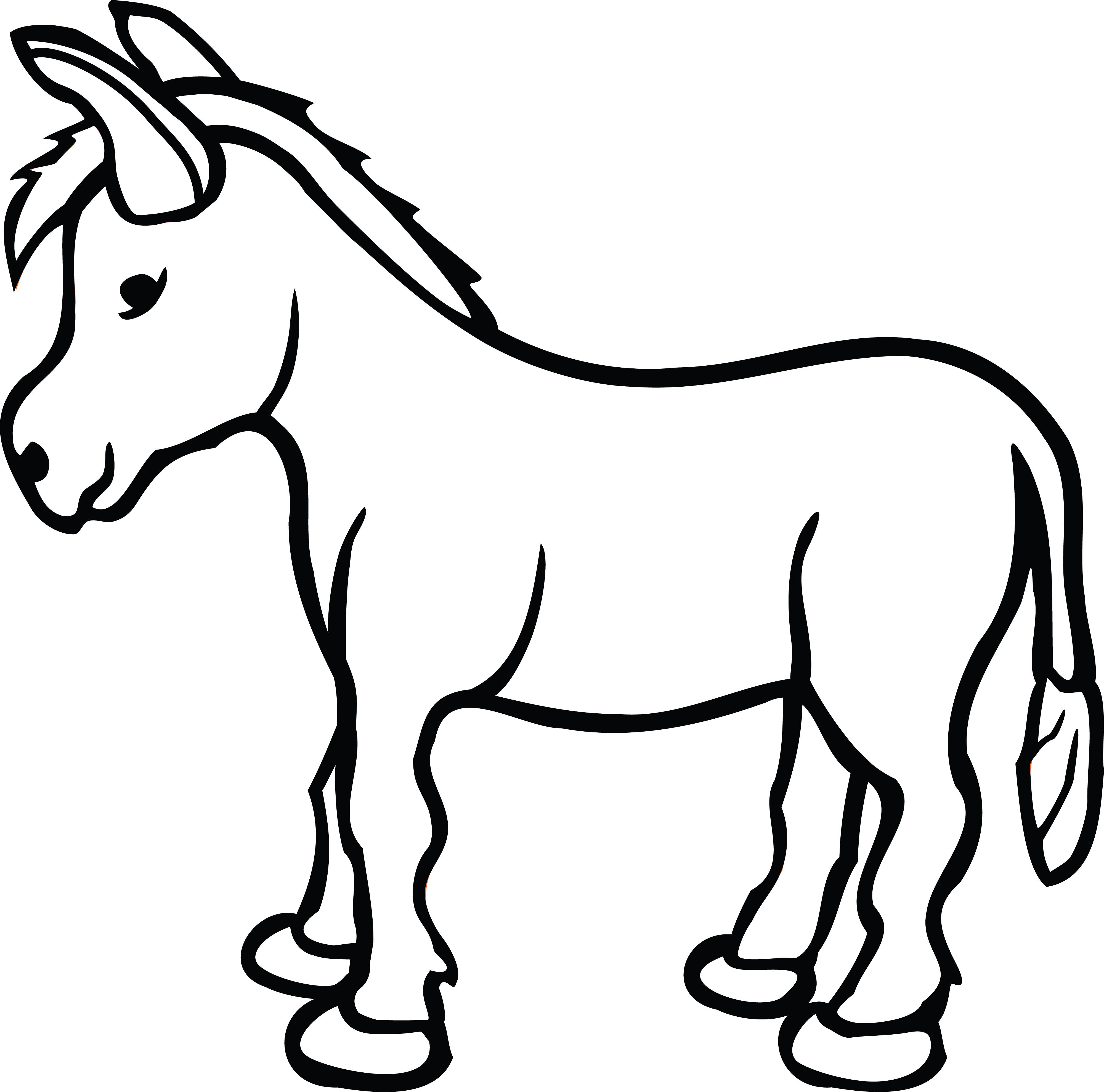 Donkey Clipart Free