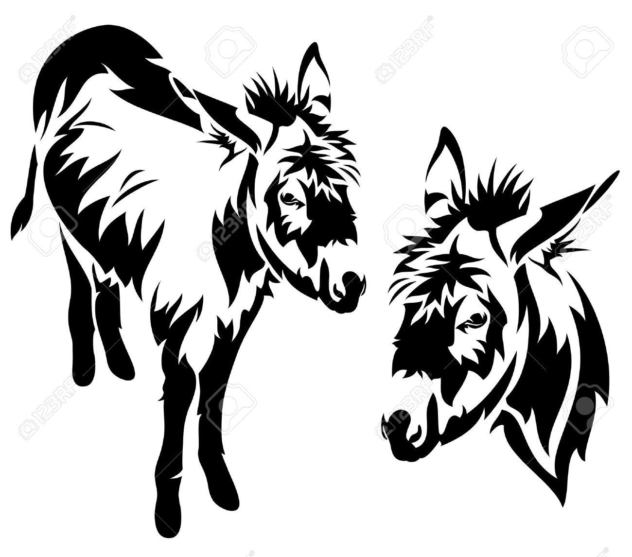 Donkey Cliparts