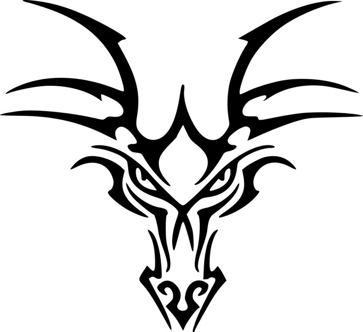 Celtic Dragon Head Tattoo Designs